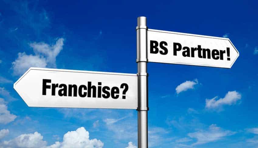 BS Partnerschaft: Sind Sie Franchisenehmer oder freier Unternehmer?