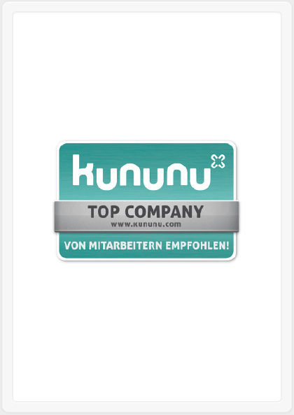 """Top Company"" auf kununu"