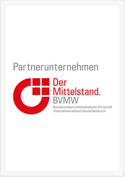 Mitglied im BVMW Unternehmensnetzwerk